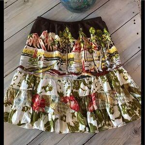 Jams World Tiki Island 3 Tiered Skirt - Size Small